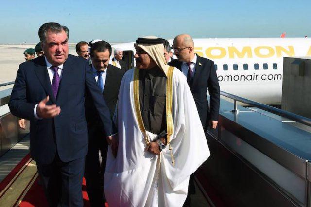 إستقبال فى مطار الدوحة الدولي