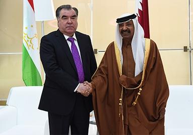 اجتماع مع رئيس مجلس الشورى القطري محمد بن مبارك الحليفى