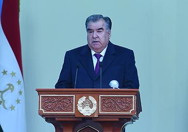 """كلمة زعيم الشعب فخامة الرئيس إمام علي رحمان رئيس جمهورية طاجيكستان في مراسم تشغيل التوربينة الأولى لمحطة """"راغون"""" الكهرومائية"""