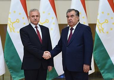 اجتماع مع سكرتير الدولة لمجلس الأمن لجمهورية بيلاروسيا ستانيسلاف زاس