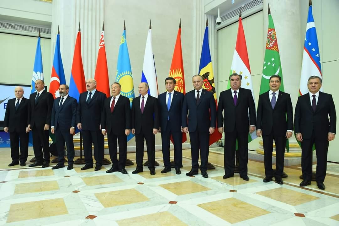 المشاركة في الاجتماع غير الرسمي لمجلس رؤساء دول رابطة الدول المستقلة