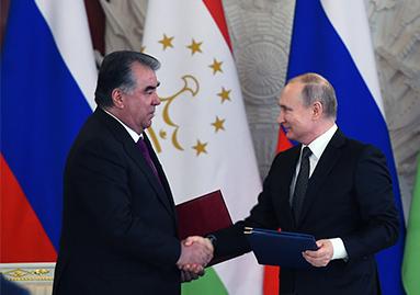 توقيع الاتفاقيات التعاونية الجديدة بين جمهورية طاجيكستان و روسيا الاتحادية