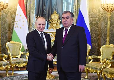 اجتماعات ومحادثات رفيعة المستوى بين طاجيكستان وروسيا