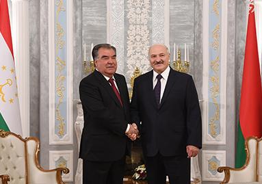 اجتماعات رفيعة المستوى بين طاجيكستان وبيلاروسيا