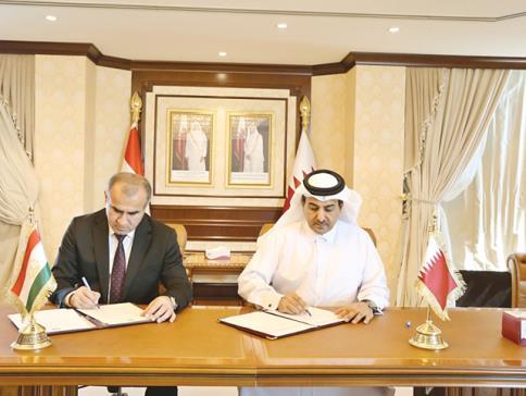 قطر وطاجيكستان تعززان التعاون القانوني
