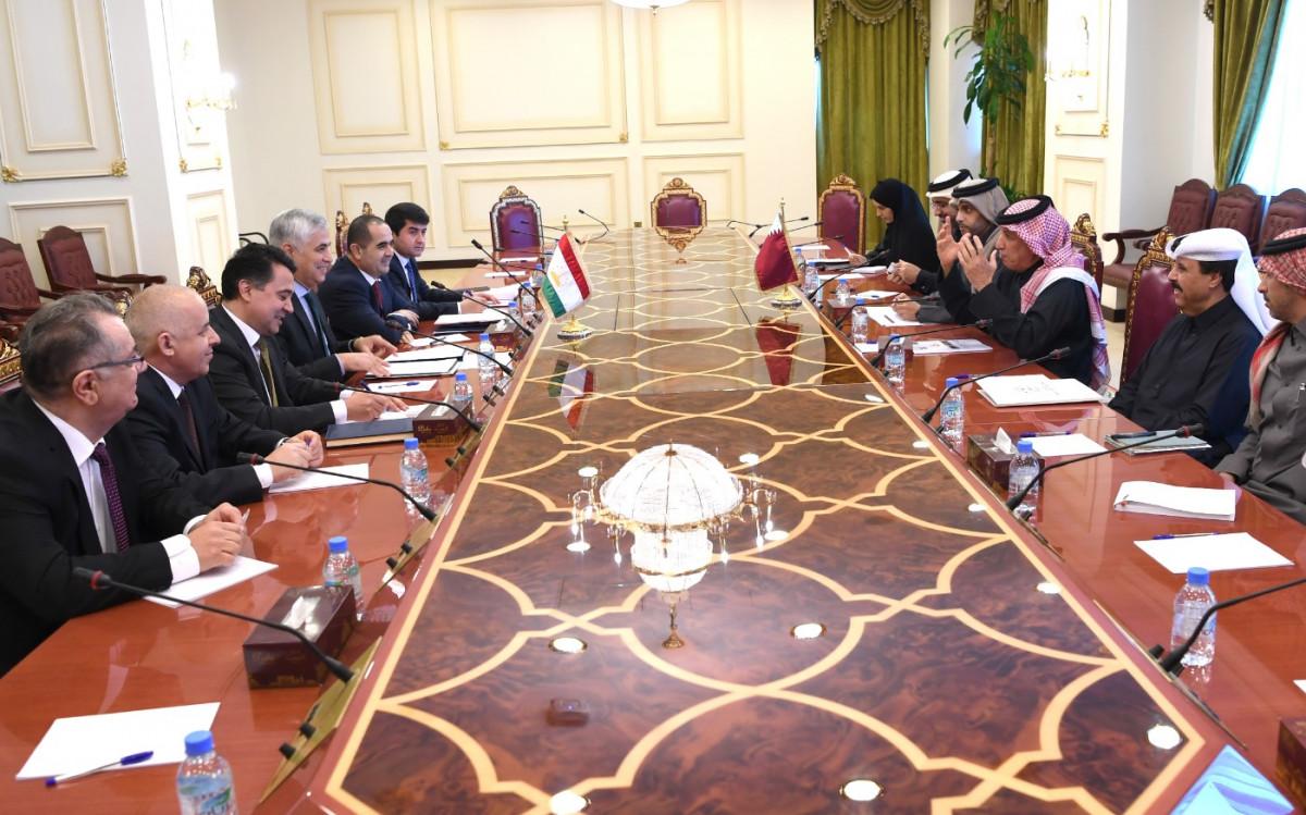 جولة مشاورات سياسية بين دولة قطر وجمهورية طاجيكستان
