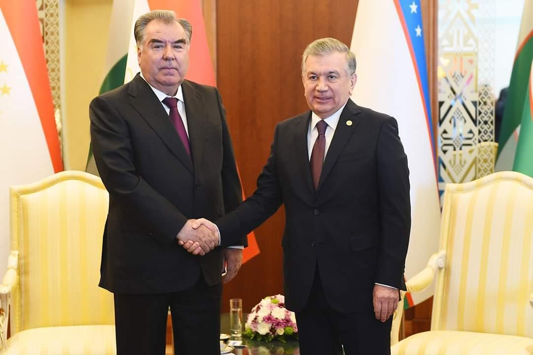 Мулоқот бо Президенти Ҷумҳурии Ӯзбекистон Шавкат Мирзиёев