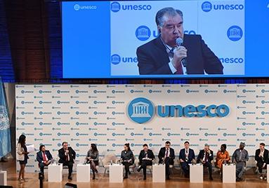 Иштирок дар ҷаласаи 40-уми Конфронси Генералии ЮНЕСКО дар масъалаҳои вобаста ба тағйирёбии иқлим
