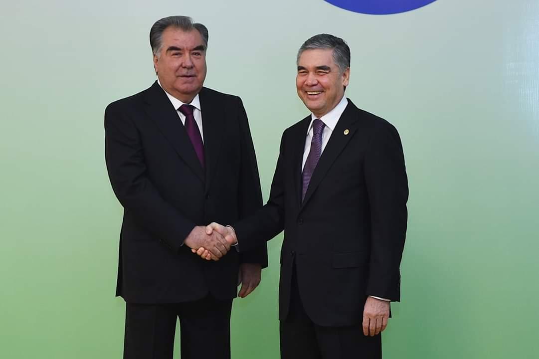 Meeting with the President of Turkmenistan Gurbanguly Berdimuhamedov